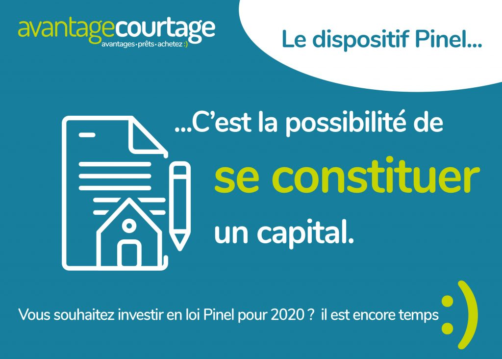 Constituer un capital avec Pinel